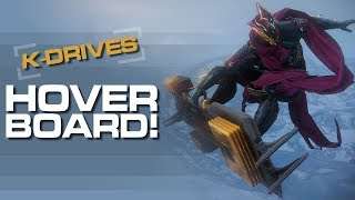 Warframe K-DRIVES