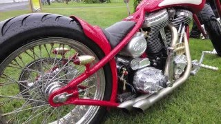 Custom Bike Show  Norrtälje Part 1