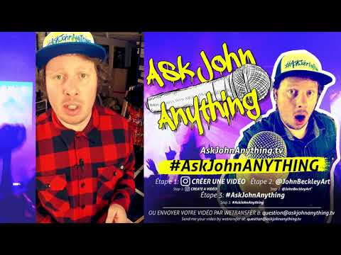 Ask John Anything EP03 - How To Sell Your ART On The Web?