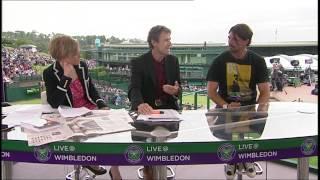 Goran Ivanisevic talks to Live @ Wimbledon (Part One)