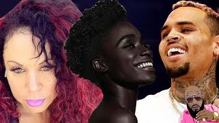 Chris Brown And His Mom DRAG Natural Hair BLVCK WOMEN On Internet In Post!
