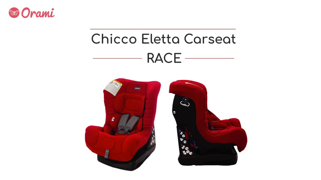 Chicco Eletta Carseat Race Youtube