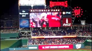 Washington Nationals Clinch NL East!