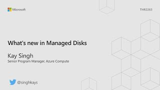 What's new in Managed Disks  - THR2263