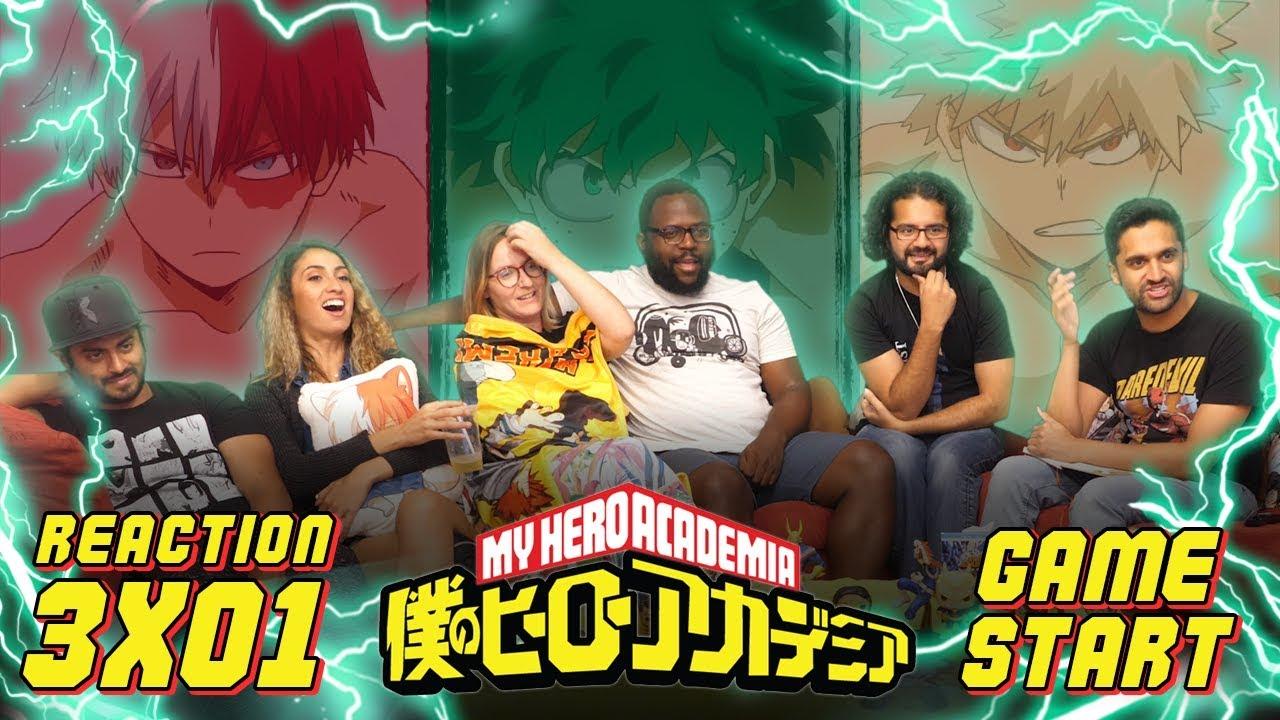 Download My Hero Academia - 3x1 Game Start - Group Reaction