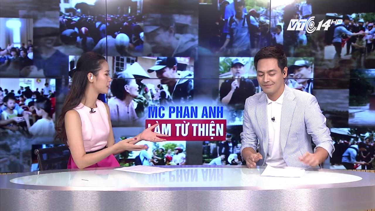 VTC14 | Mc Phan Anh và câu chuyện từ thiện tiền tỷ gây ồn ào