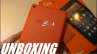 Unboxing: Amazon Fire 7 Tablet - Budget $29 Android Tablet?!
