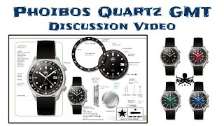 New Phoibos Quartz GMT  - First Look and Discussion Video!