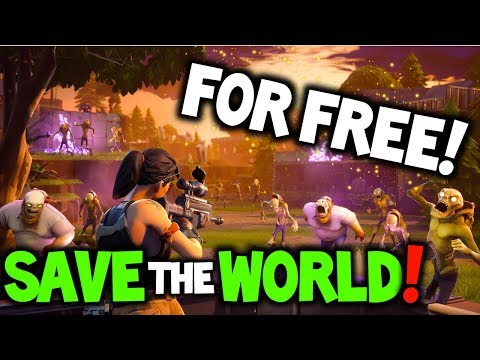 Fortnite Free Save The World Release Date Save The World