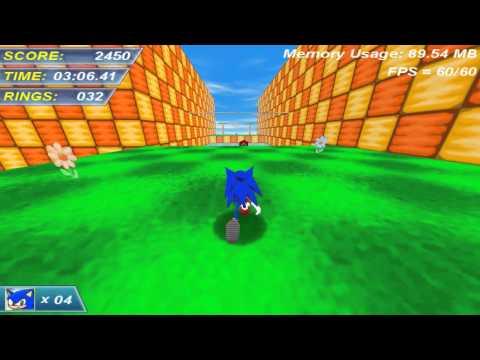 Играем в фан игры - Sonic Neo-Adventure «СТАРОЕ»
