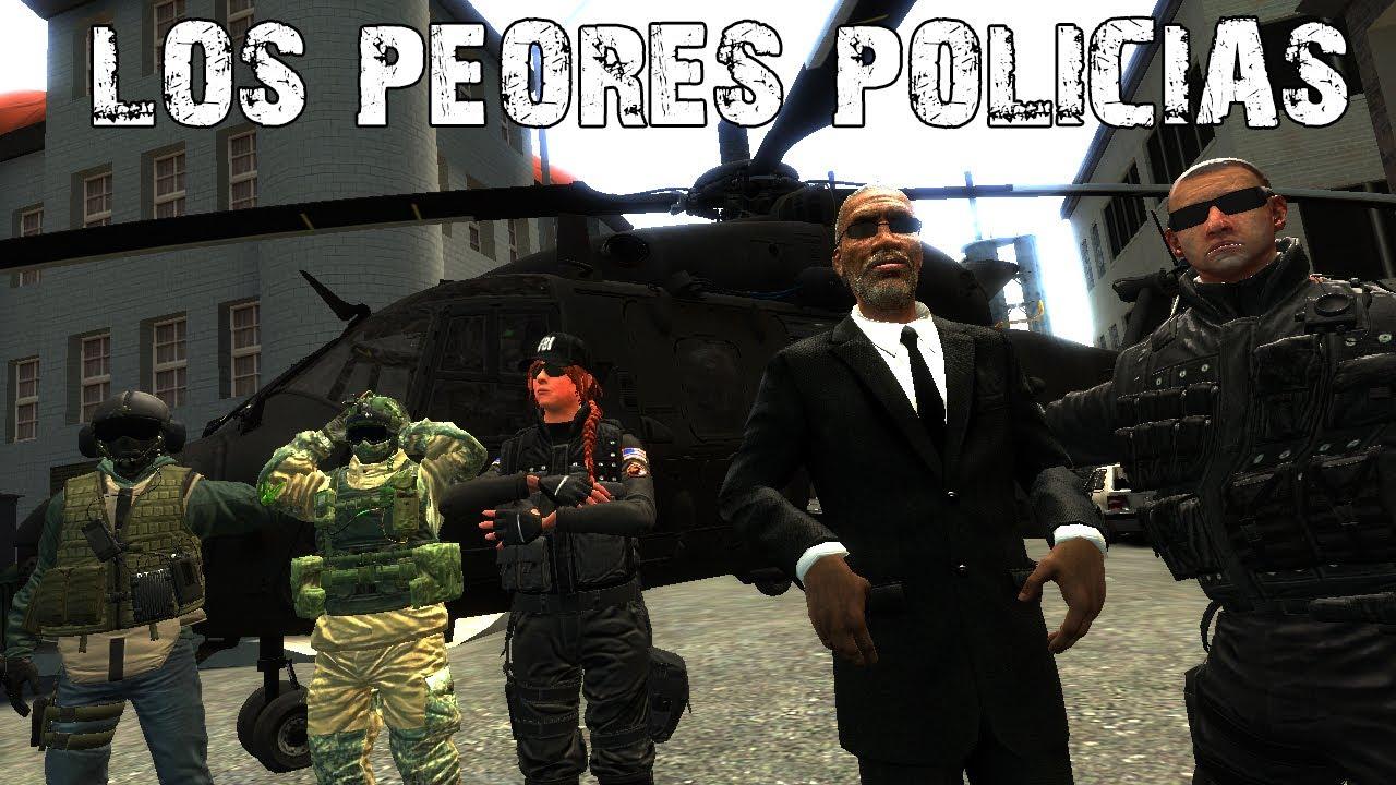 Garry's Mod | Los peores policias