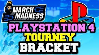 PS4 MARCH MADNESS NBA 2K19 MYTEAM TOURNAMENT TEAM ANNOUNCEMENTS + BRACKET REVEAL!