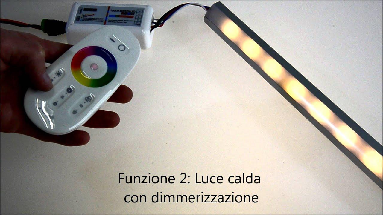 Strip LED RGB + WW - YouTube