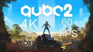 Q.U.B.E. 2 4K 60FPS Amazing Game