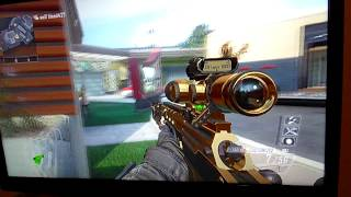 Call of Duty: Black Ops 2 1v1 goes wrong (Kid Rages)