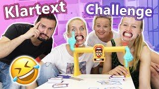 KLARTEXT DUELL Spiel deutsch | EKLIGE SABBER MAULSPERREN CHALLENGE Spiel mit mir VS DIY Inspiration