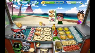 Cooking Fever Fully Upgraded Corndog Van Gameplay