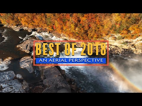 Best of 2018: An Aerial Perspective Drone Video