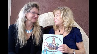 Mother Daughter Duo talks about how they created the Adventures of Santa Fe Sam Children's books