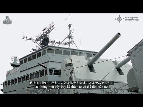 [Huyền thoại Hải quân] Lớp tuần dương hạm nhẹ Cleveland (Phụ đề tiếng Việt và tiếng Nhật)