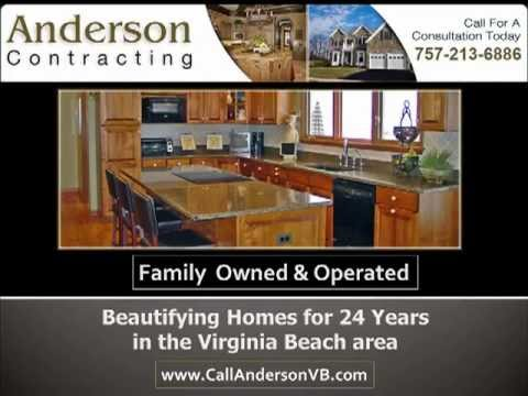 home kitchen and bathroom remodeling for virginia beach anderson contracting - Bathroom Remodeling Virginia Beach