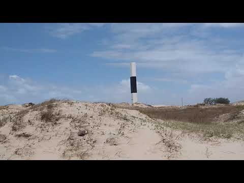 Praia de dunas altas em Palmares do Sul rs