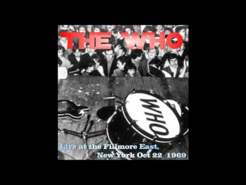 THE WHO   Live at the Fillmore East Oct 22, 1969