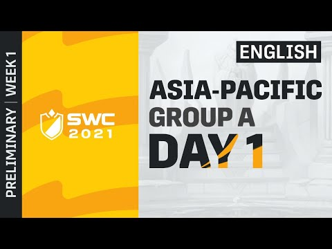 [ENGLISH] SWC2021 APAC Preliminary Group A Day 1 | Summoners War | 서머너즈워