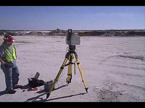 3-D laser Scanner Tampa, Florida Sand Mines