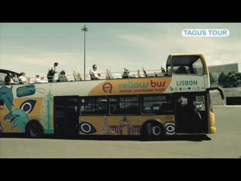 Lisbon Hop-On Hop-Off Tagus Bus Tour - 24 Hours Ticket | experitour.com