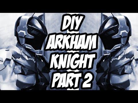 Arkham Knight How to DiY Body Armor from Batman Arkham Knight Part 2