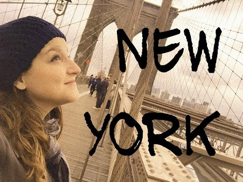 VLOG NYC - Statue of Liberty, Charging Bull, Times Square, Brooklyn Bridge,Central Park