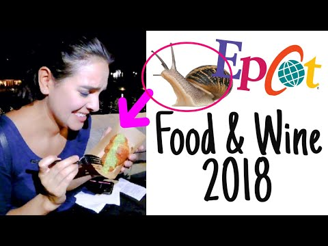 TASTING SNAIL IN FRANCE | EPCOT FOOD & WINE 2018