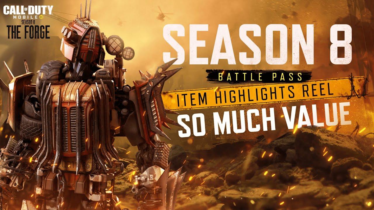 Season 8 Battle Pass - Item Highlights [Call of Duty®: Mobile - Garena]