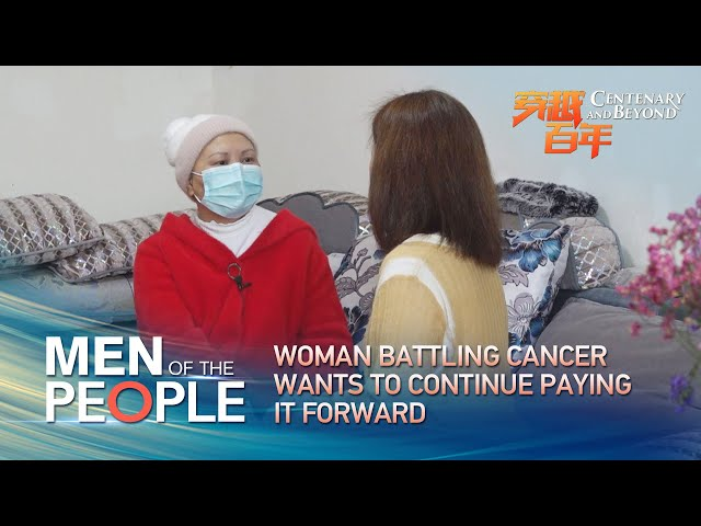 Man of the People: Woman battling cancer wants to continue paying it forward