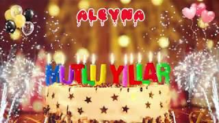 İyi ki doğdun ALEYNA doğum günün kutlu olsun, Mutlu Yıllar Aleyna, İsme Özel Doğum Günü Şarkısı