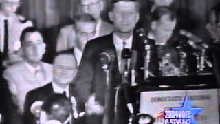 1960 John F Kennedy Speech to delegates at Biltmore Hotel before Democratic Convention