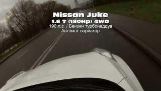 Тест видео Nikon D5300 на тест-драйве Nissan Juke / Ниссан Жук.  Size35mm.ru