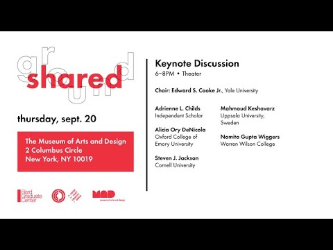 Shared Ground: Cross-Disciplinary Approaches to Craft Studies Symposium