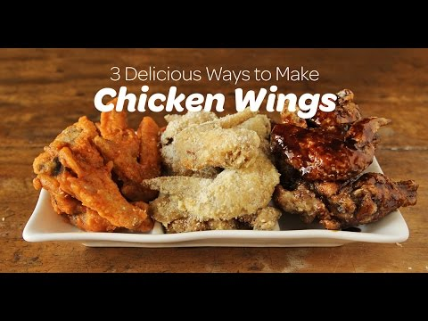 3 Delicious Ways To Make Chicken Wings | Yummy Ph