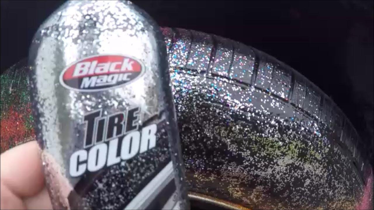 Tire Shine On Car Paint