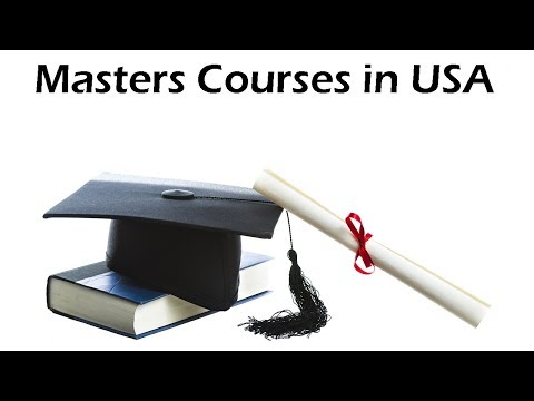 MS Courses in the US