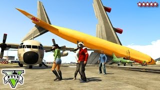 GTA 5 FLYING PIGGY | GTA Online Aerial Piggy Hunt Mini-Game