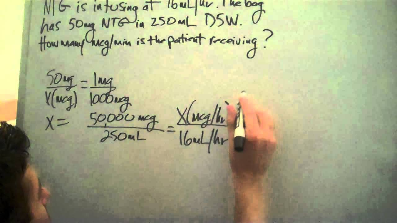 Medical Math For Nurses Broward College Ntg Ratio And Proportion