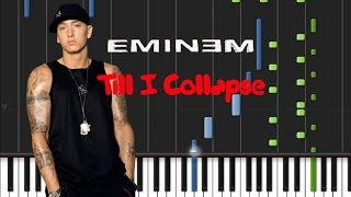Download lagu Eminem - Till I Collapse [Synthesia Tutorial]