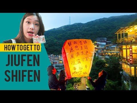 TAIWAN EP 7 : DIRECTIONS TO JIUFEN & SHIFEN (九份 十分)