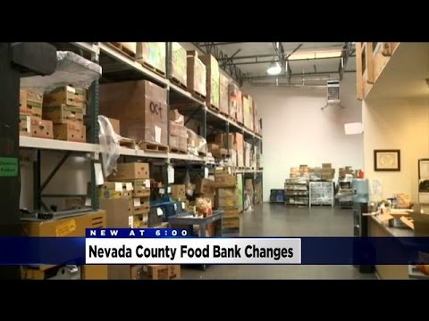 Nevada County Food Bank Worker Threatened By Person With Knife