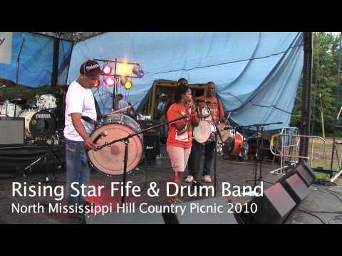 Rising Star Fife & Drum Band - Station Blues - North Mississippi Hill Country Picnic 2010