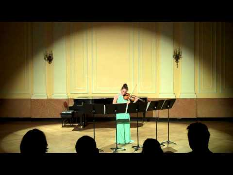 Audrey Wright - L. Berio Sequenza for Solo Violin VIII