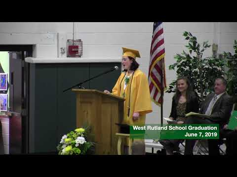West Rutland School Graduation 2019